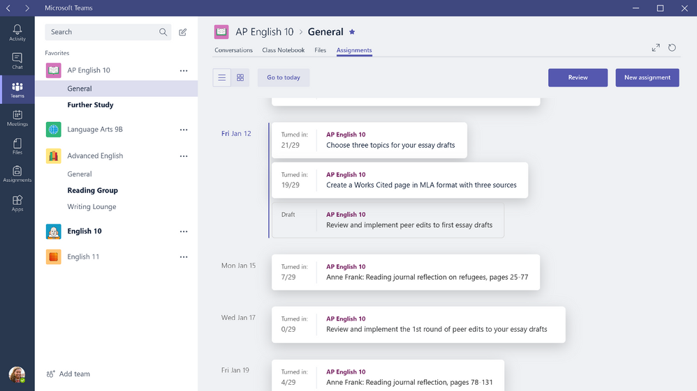 microsoft teams education