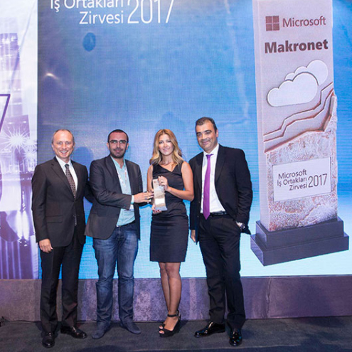2017 Microsoft Cloud Partner of the Year